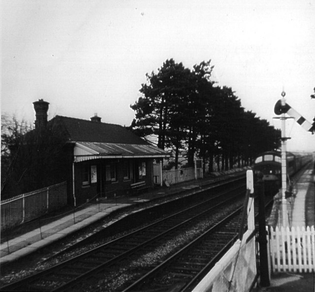 Milcote Station in 1966