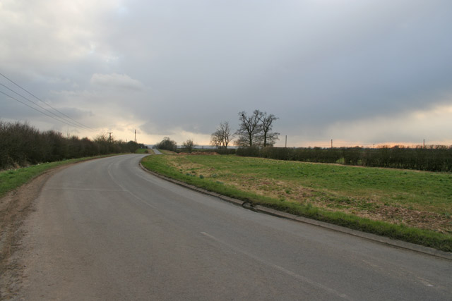 Back Lane between Wymeswold and Willoughby on the Wolds