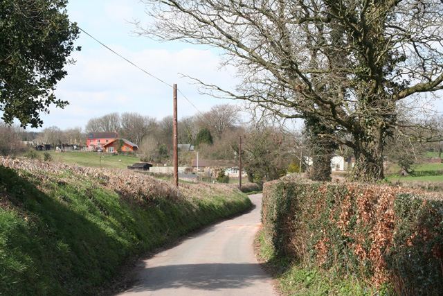 Burlescombe: north to Old Beat and Gipsy Town