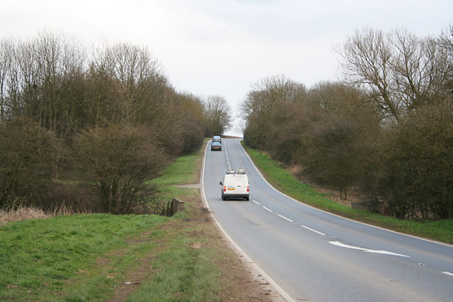 Wide Lane, A6006 near Willoughby