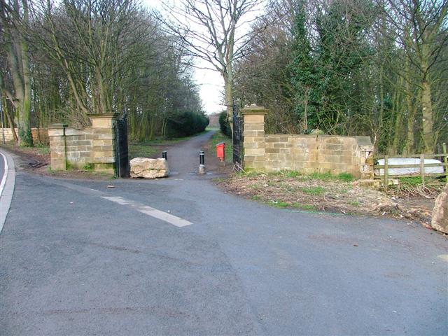 Entrance to Kirkleatham Hall