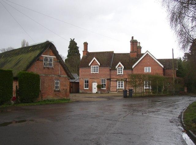 House near to the church, Bramley