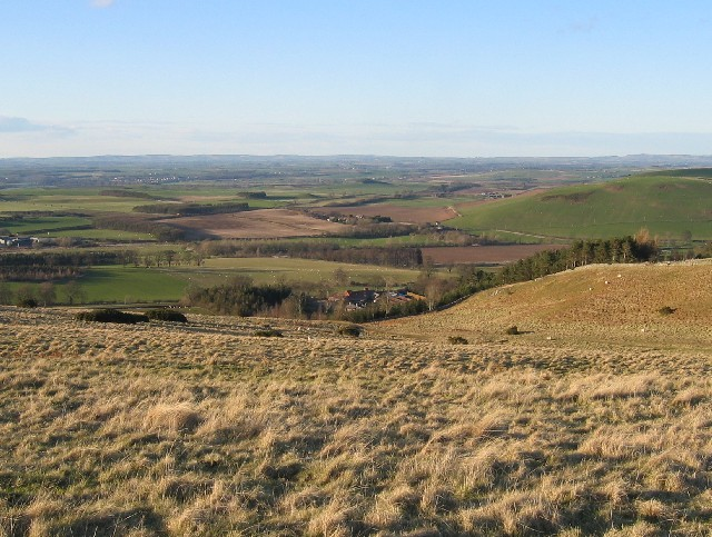 North from Pawston Hill