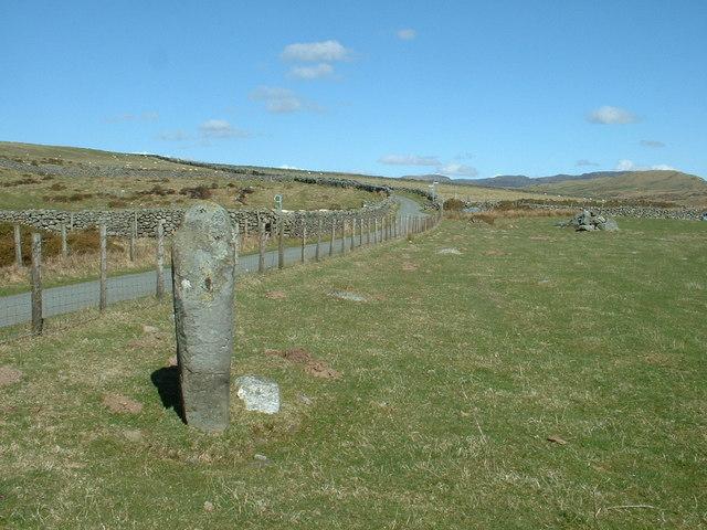 Standing Stone near Rhiwgoch