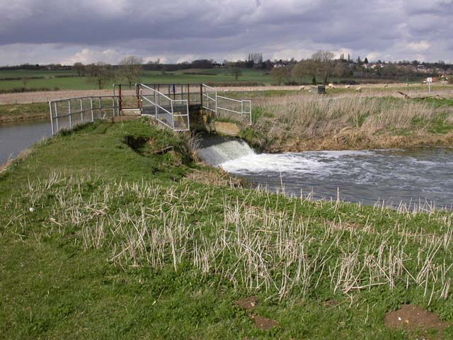 Weir on the River Nene