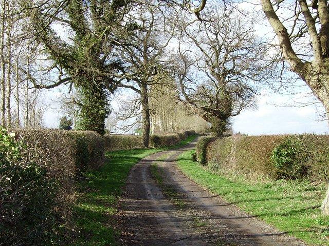 Ashford Carbonel - Little Hereford road