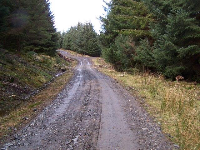Beinn Lagan Road