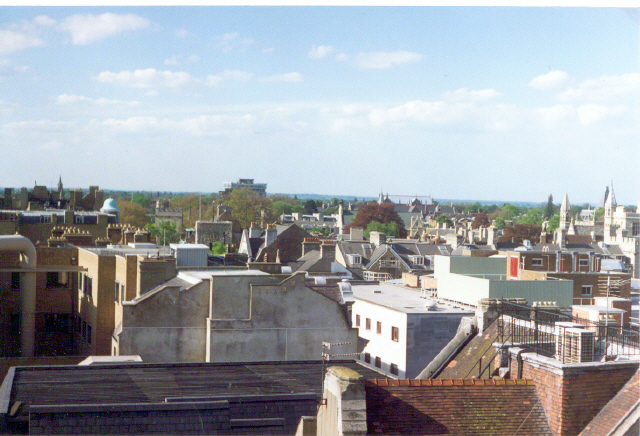 Oxford from Carfax Tower looking north