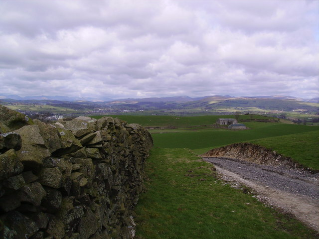 Wall above Kendal