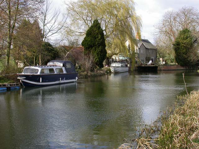 Earls Barton Mill and Houseboats