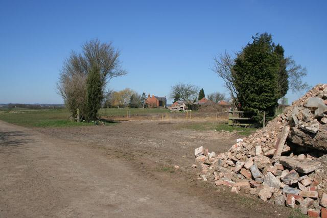 Entrance to The Grange, Glebe Lane, Wymondham