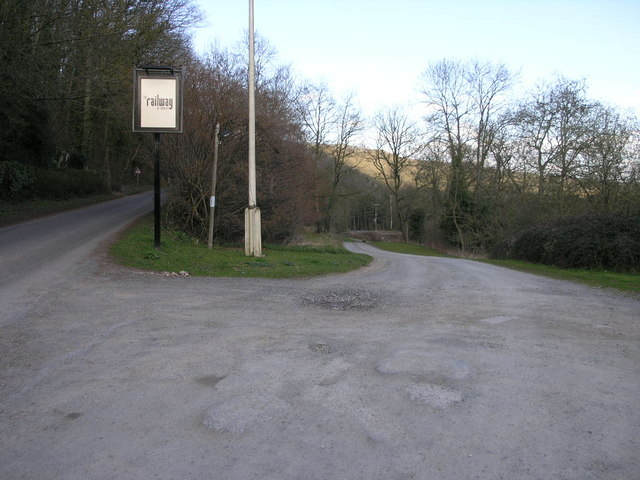 Road to The Railway