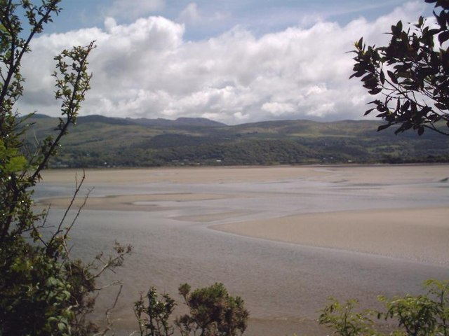 View of Dwyryd Estuary from Portmeirion
