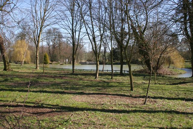 Lake at Leesthorpe Hall, Leicestershire