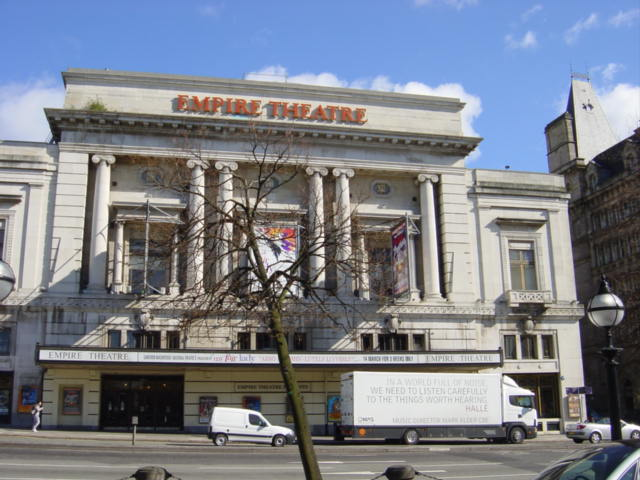 Empire Theatre, Lime Street, Liverpool