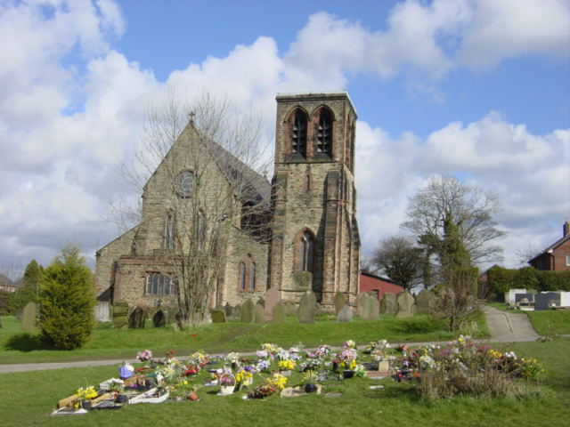 St Nicholas' Church, Whiston