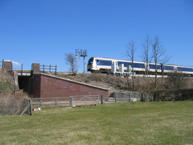 Train for Birmingham