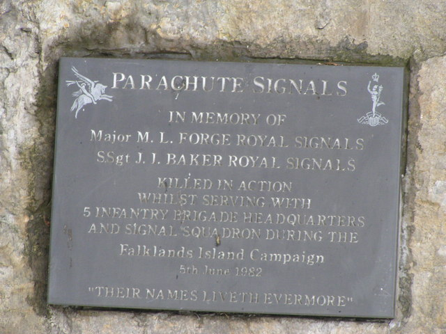 Falklands Campaign Memorial, Caythorpe