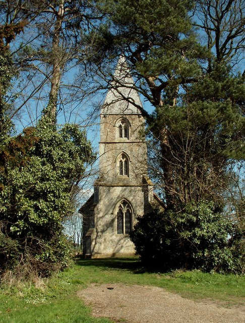 St. Mary's church, Chickney, Essex
