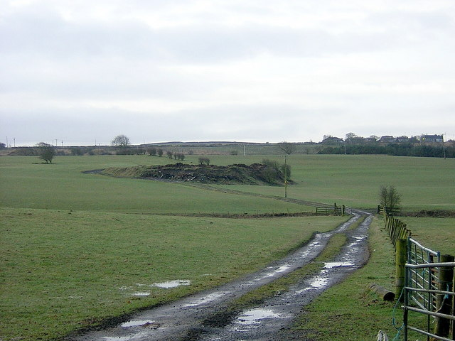 Spoil Heap Near Greengairs