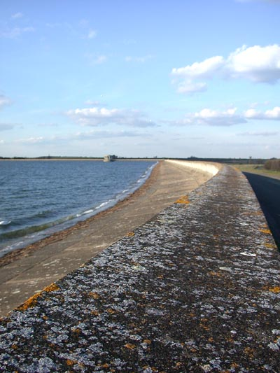 Dam at Grafham Water