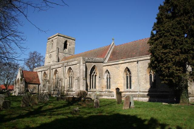 St.Peter & St.Paul's church, Osbournby, Lincs.