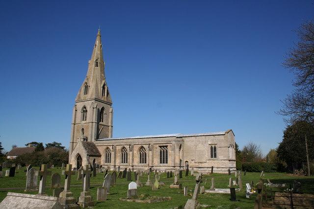 St.Peter's church, Threekingham