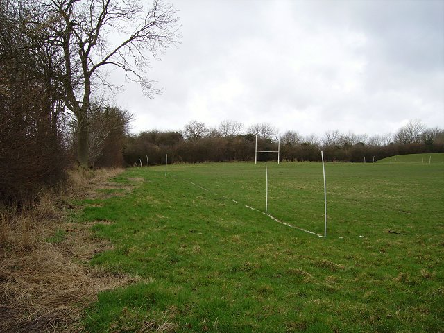 Rugby pitch, Knowle.
