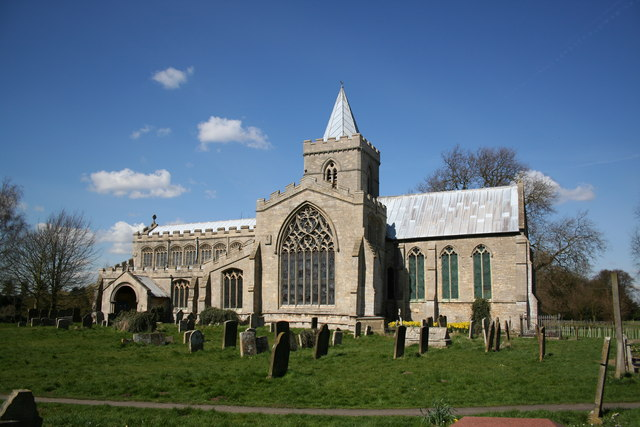 St.Peter & St.Paul's church, Algakirk, Lincs.