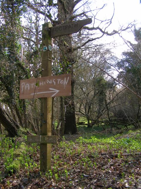 Signpost near Patchington