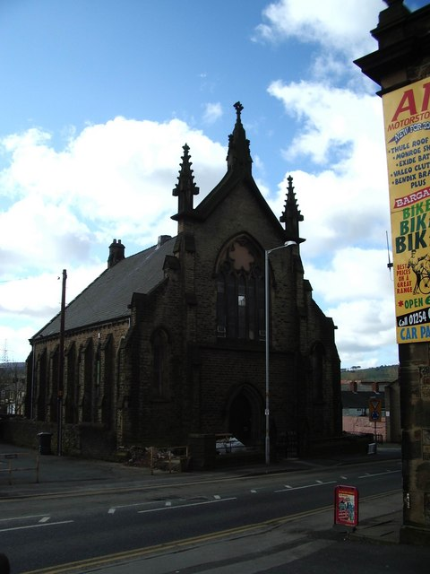 Lower Darwen Methodist Church, Blackburn.