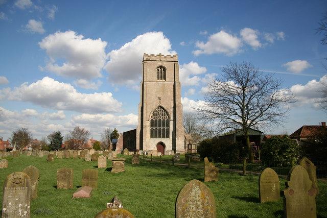 St.James' church, Freiston, Lincs.