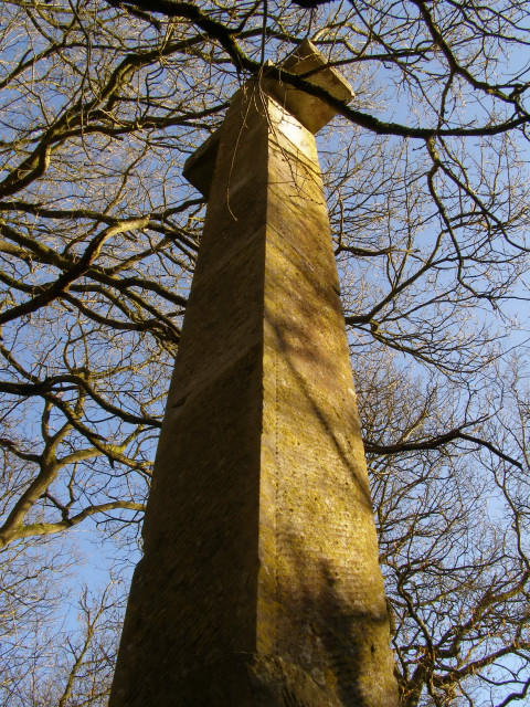 Deadmans Plack Monument, Harewood Forest