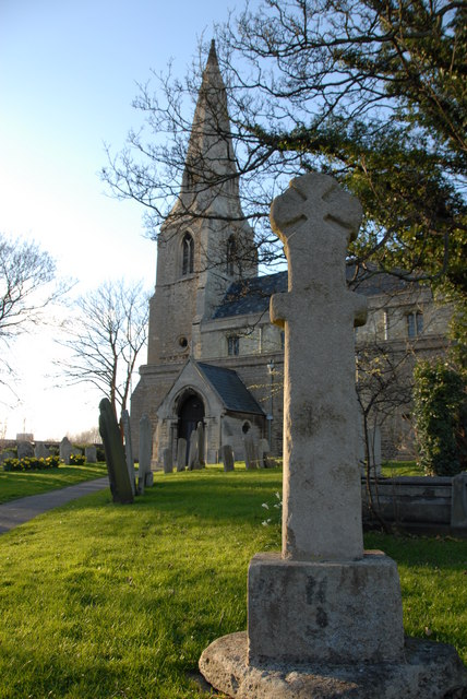 Stanground churchyard cross, Peterborough