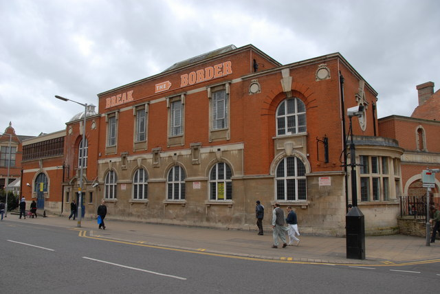 Former Central Library, Broadway, Peterborough