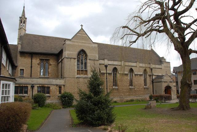 St Peter & All Souls RC church, Peterborough