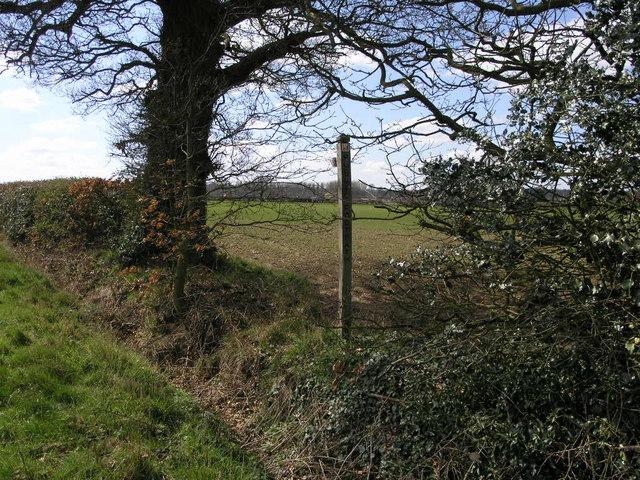 Footpath to Brewood