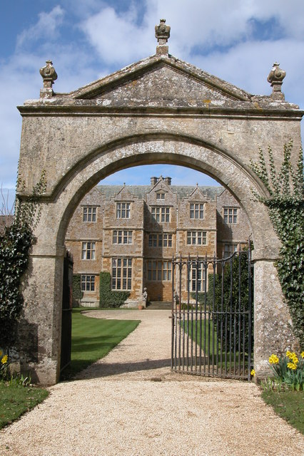 Entrance Archway to Chastleton House