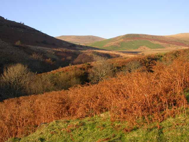 Afon Cadair valley below Cadair Idris