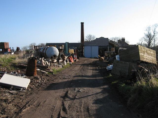 Oldhamstock Mains, near Innerwick