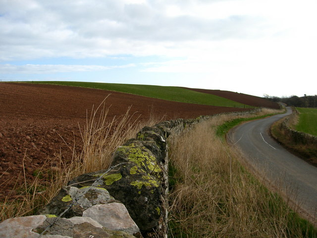 Road to Cockburnspath