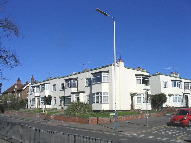 'Modernist-style' housing, Upminster
