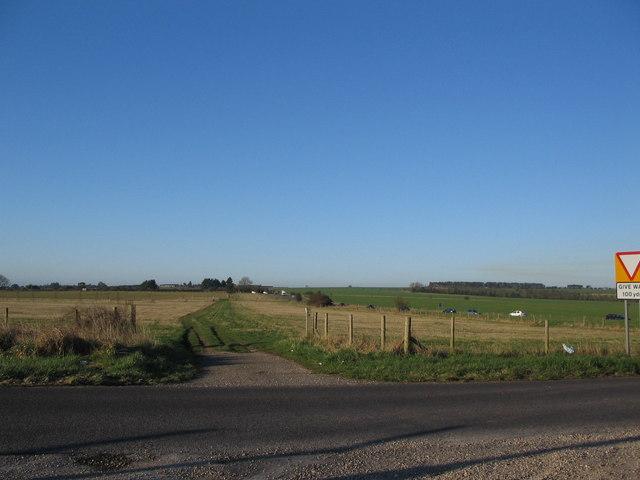 Bridleway on Salisbury Plain