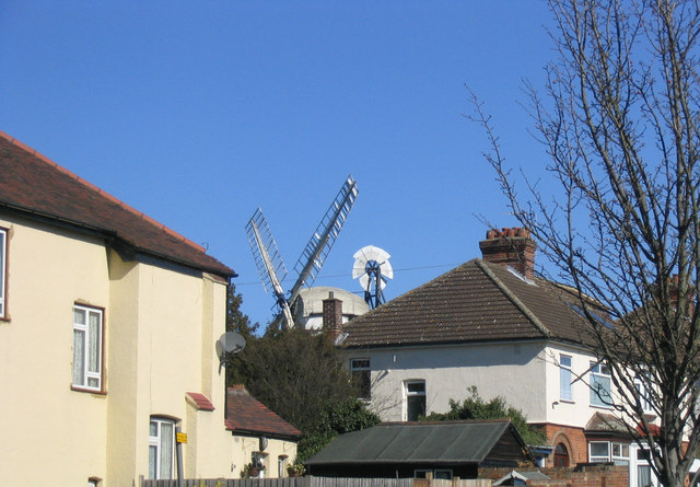 A windmill in the garden!