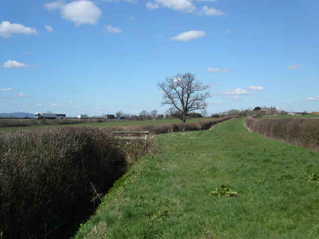 Bridleway at Manor farm