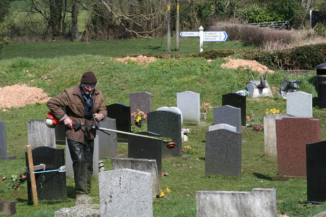 Uffculme: Cemetery at Corks Hill