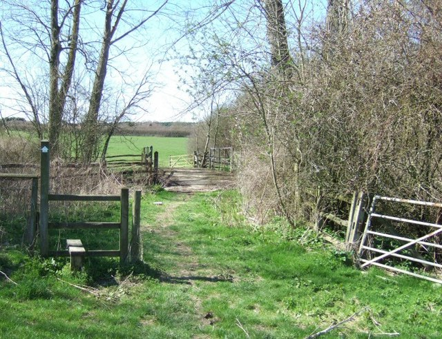 Stile and Footbridge Beyond