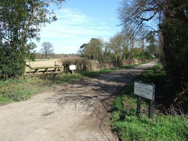 Lane to Hatchetts