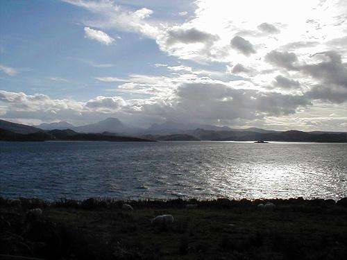 View of Glas Eilean