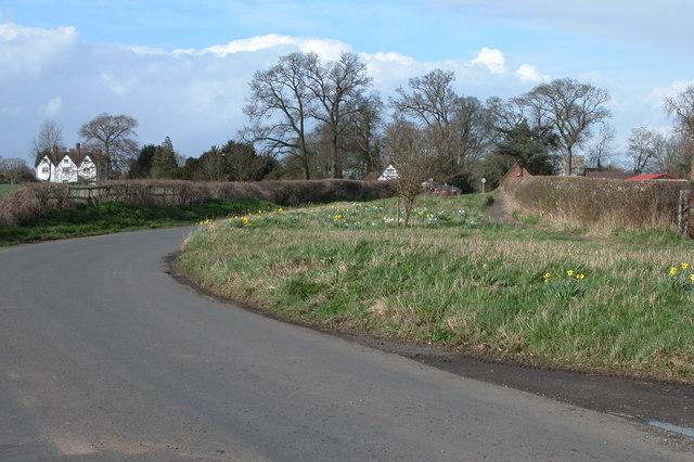Church Lane, Earl's Croome